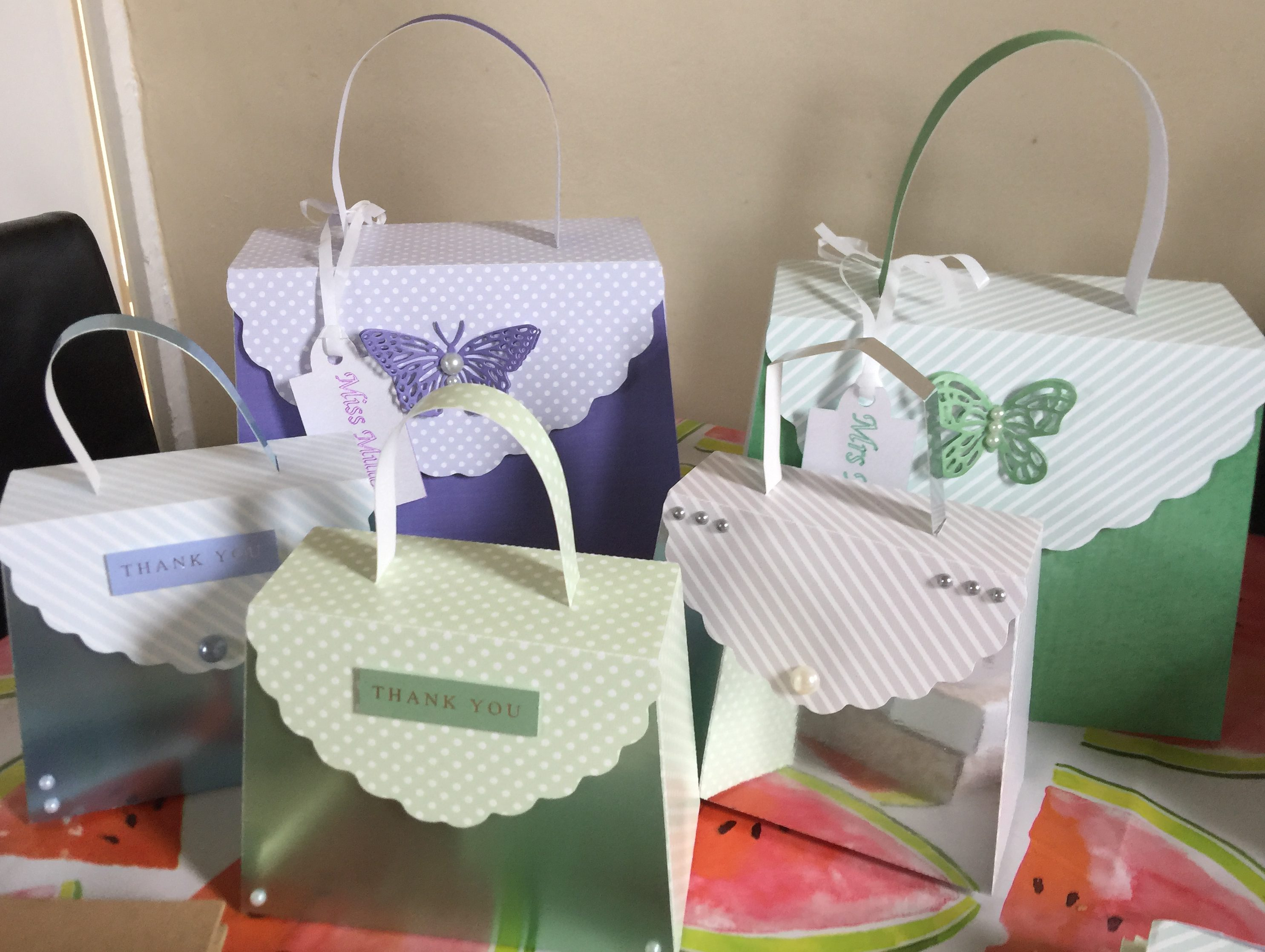 Party Bags, Boxes and Favours