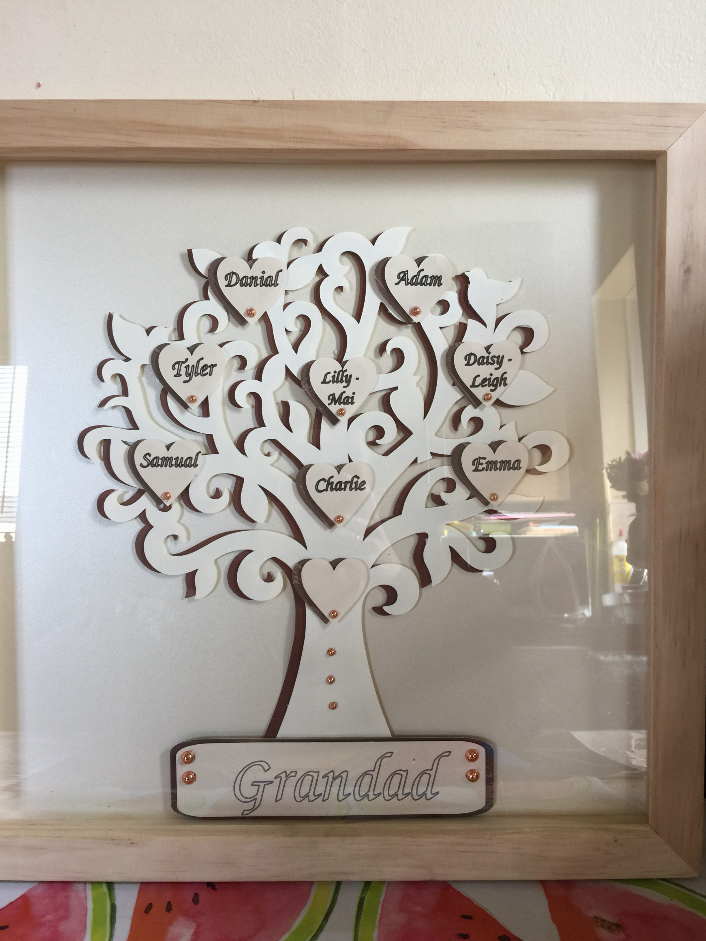 Large Family Tree Frames – Handcrafted with Love